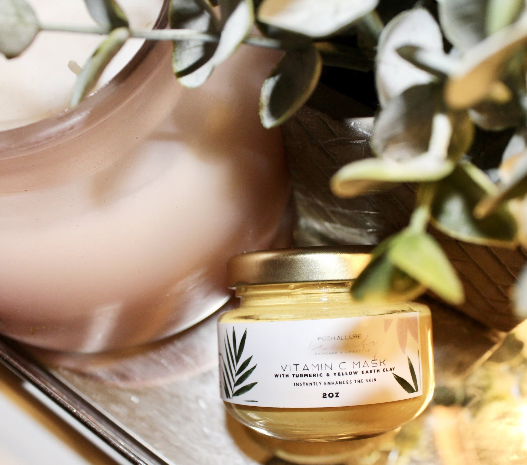 Vitamin C & Turmeric Mask - Posh|Allure Beauty