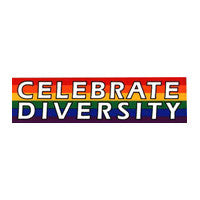 Celebrate Diversity Bumper Sticker