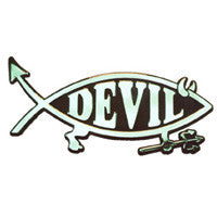 Devil Car Plaque