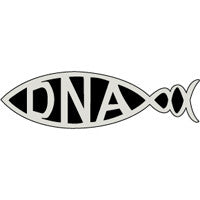 DNA Car Plaque