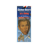 George Bush's Head on a String Air Freshener