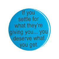If you settle Button
