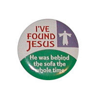 I've found jesus Button