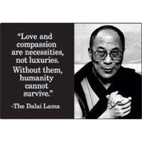 Love and compassion Magnet