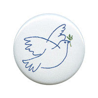 Peace Dove Button