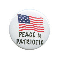 Peace is patriotic Button