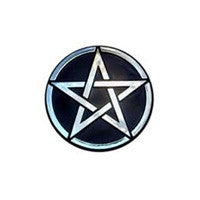 Pentagram Car Plaque