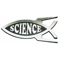 Science Car Plaque