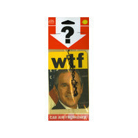 WTF? George Bush's Head Air Freshener
