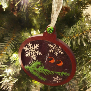 Christmas Decorations , Christmas 2020, Xmas Tree Ornaments, Owl Ornament, Christmas Bauble
