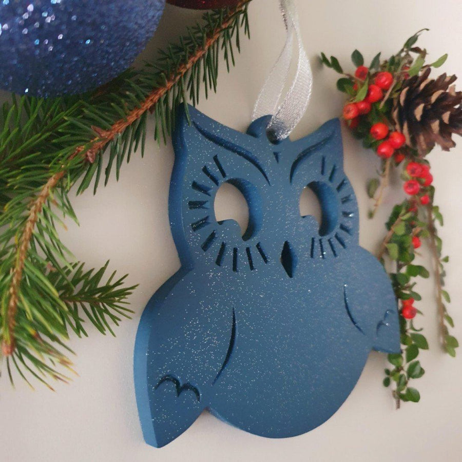 Christmas Decorations, Xmas Bauble, Xmas Decor, Ultimate Owl Charms Collection, Christmas Ornaments