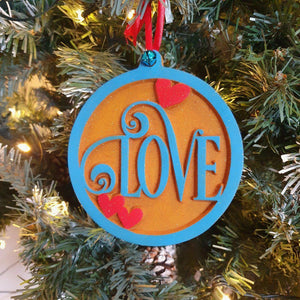 Couple 1st Christmas Decorations, Festive Ornament, Christmas Decor, Xmas Tree Bauble, Love