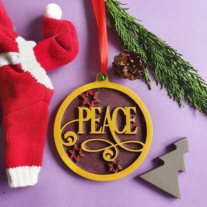 Hanging Christmas Decorations, New Home Gift, Christmas, Gift, Peace
