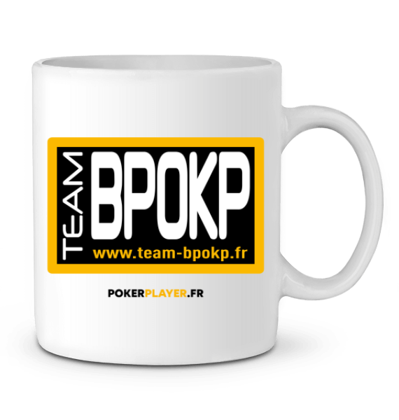 MUG CÉRAMIQUE POKERPLAYER TEAM BPOKP