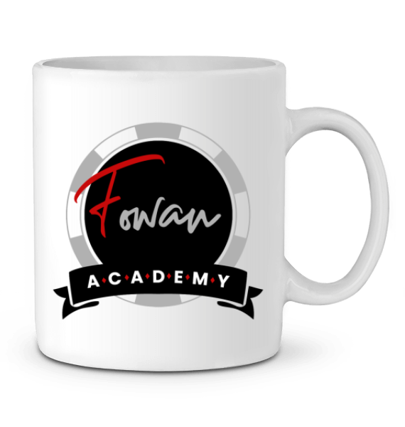 MUG POKERPLAYER FOWAN ACADEMY
