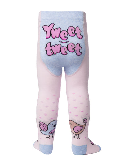 Light-pink baby tights