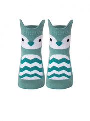 Cool baby socks with owl face by Conte-Kids