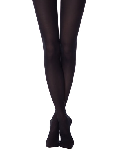 Black opaque 50 denier tights Conte Elegant Episode