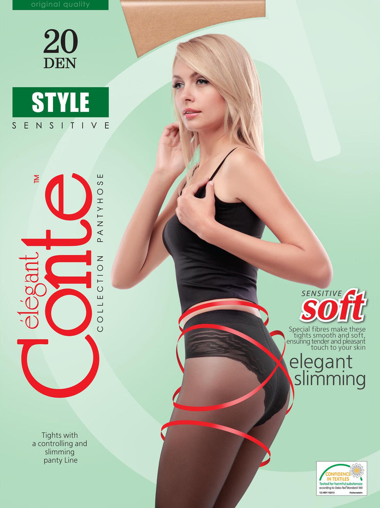 Slimming belly tights STYLE 20 den