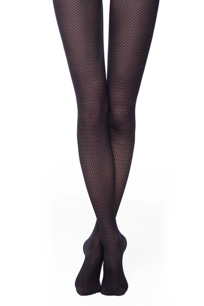 Opaque patterned tights MANIA 30 den