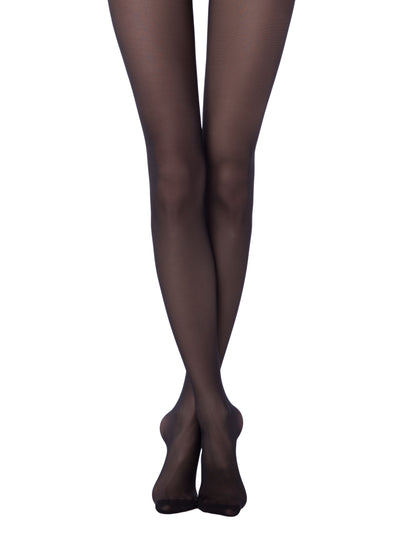 Opaque tights black pantyhose 40 denier Ideal Conte Elegant