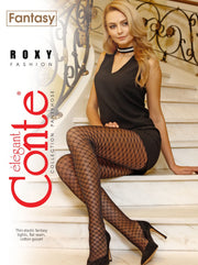 Fishnet imitation tights ROXY 20 den