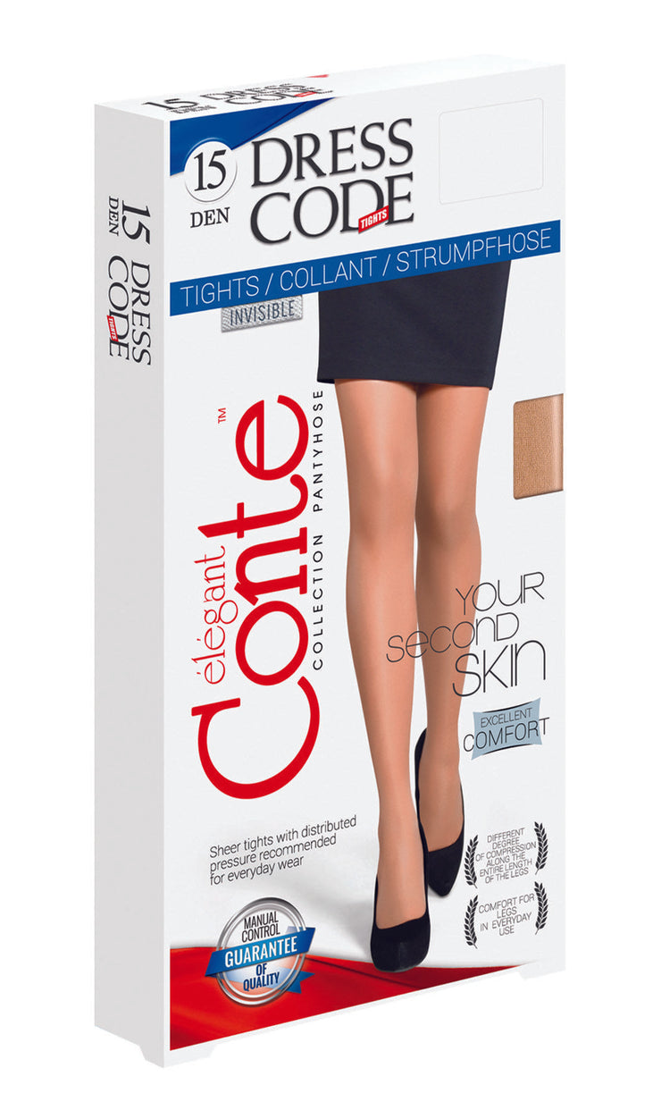 Sheer tights pantyhose 15 denier Dress Code