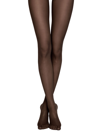 Snag resistant no run tights black pantyhose Tulle Conte Elegant