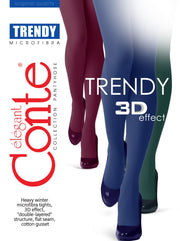 150 denier colored opaque tights mikrofiber Conte Elegant Trendy grey blue marsala green
