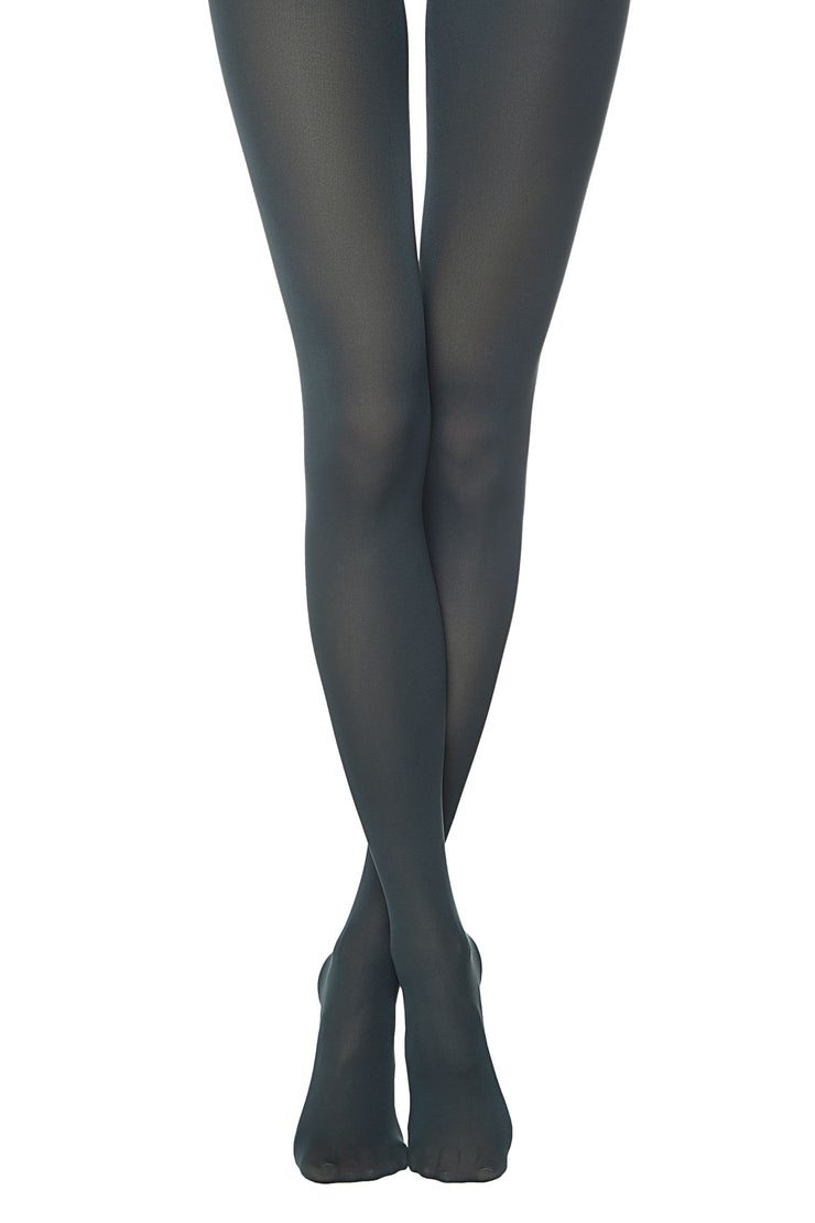 150 denier colored opaque tights TRENDY