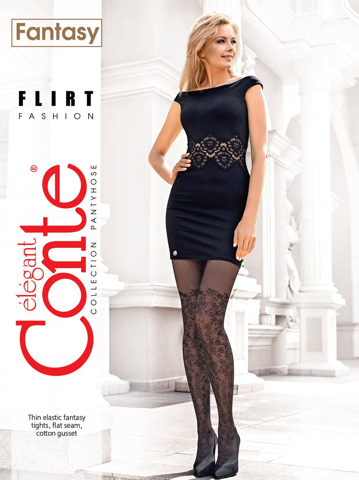 Women's tights ELEGANT FLIRT