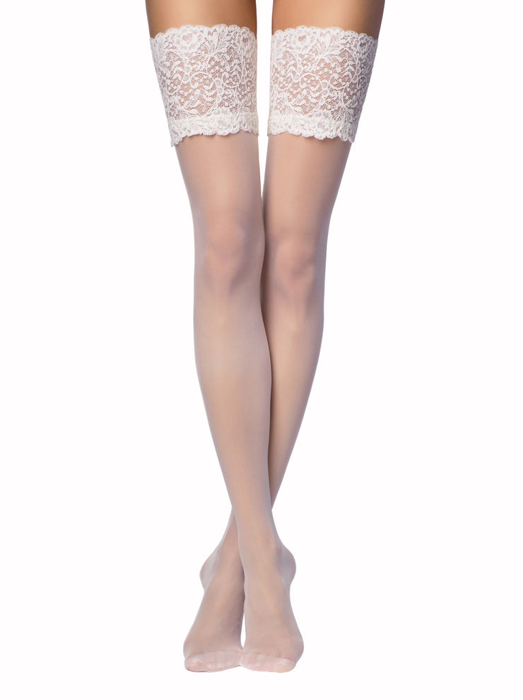 💘 20 denier Bridal Stockings Amore