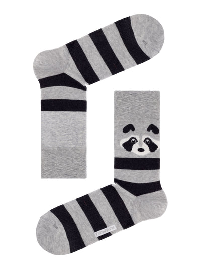 Funny Men's raccoon Socks, Family look by DiWaRi