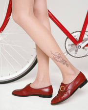 CONTE Tights TATTOO with a pattern Garden