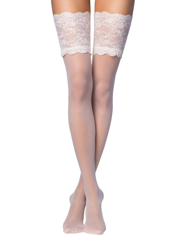 20 denier Bridal Stockings Grace