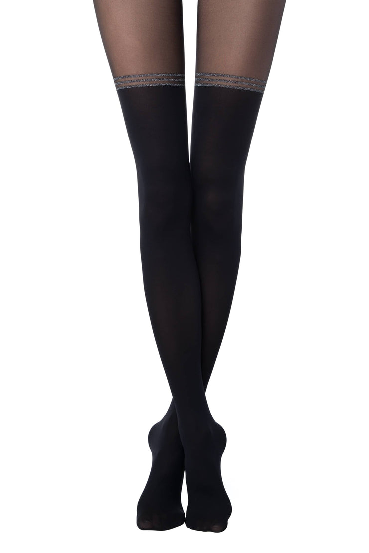 Knee-socks imitation tights IMPRESSIVE 50 den