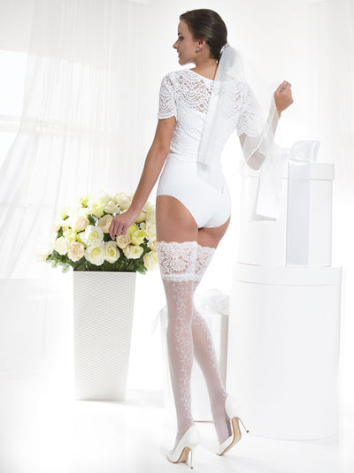 💘 20 denier Bridal Stockings Glory
