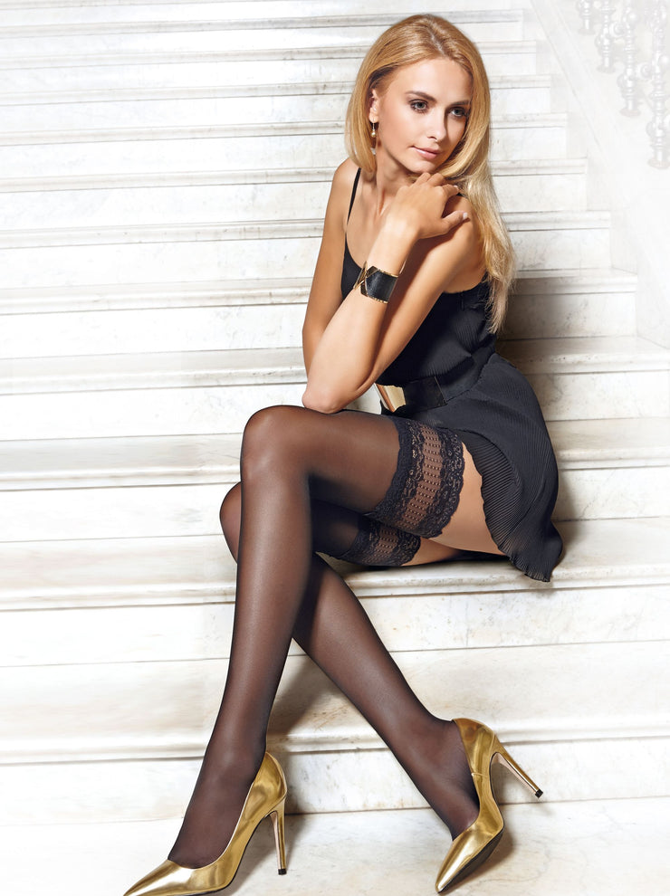20 denier fashion stockings Flame