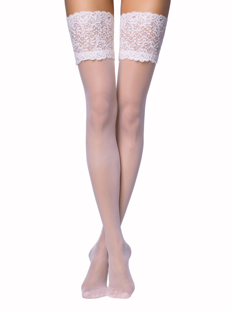 20 denier Bridal Stockings Amore