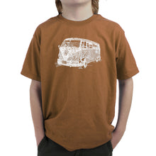 Load image into Gallery viewer, LA Pop Art Boy's Word Art T-shirt - THE 70'S