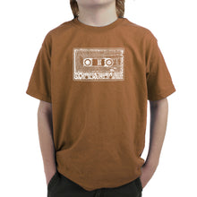 Load image into Gallery viewer, LA Pop Art Boy's Word Art T-shirt - The 80's