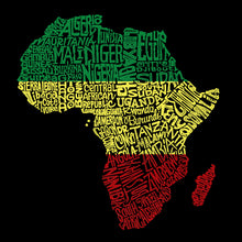 Load image into Gallery viewer, LA Pop Art Large Word Art Tote Bag - Countries in Africa
