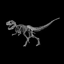 Load image into Gallery viewer, LA Pop Art Boy's Word Art T-shirt - Dinosaur T-Rex Skeleton