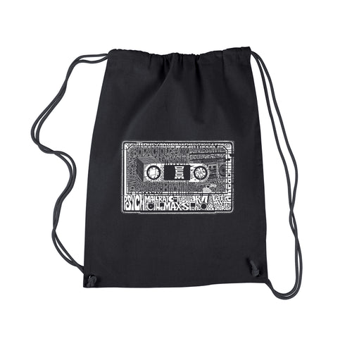 LA Pop Art Drawstring Backpack - The 80's