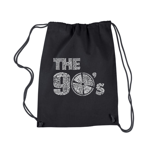 LA Pop Art Drawstring Backpack - 90S