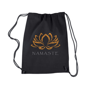 LA Pop Art Drawstring Backpack - Namaste