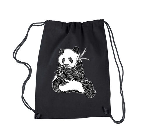 LA Pop Art Drawstring Backpack - Endangered SPECIES
