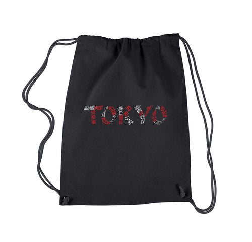 LA Pop Art Drawstring Backpack - THE NEIGHBORHOODS OF TOKYO