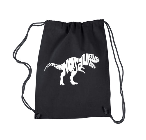LA Pop Art Drawstring Backpack - TYRANNOSAURUS REX