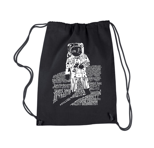 LA Pop Art Drawstring Backpack - ASTRONAUT